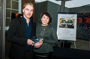 Theatre503 Playwriting Award, Jerwood Space, 29.11.14, courtesy of Alex Harvey-Brown 2