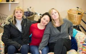 Tamzin Outwaite (Di), Samantha Spiro (Viv) and Jenna Russell (Rose) in rehearsal photo credit Johan Persson (01799.jpg