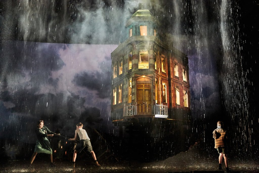 An Inspector Calls by J B Priestley Directed by Stephen Daldry Designed by Ian MacNeil Lighting Design by Rick Fisher Music by Stephen Warbeck Associate Director Julian Webber Cast: Liam Brennan Clive Francis Barbara Marten Carmela Corbett Matthew Douglas Diana Payne-Myers Hamish Riddle
